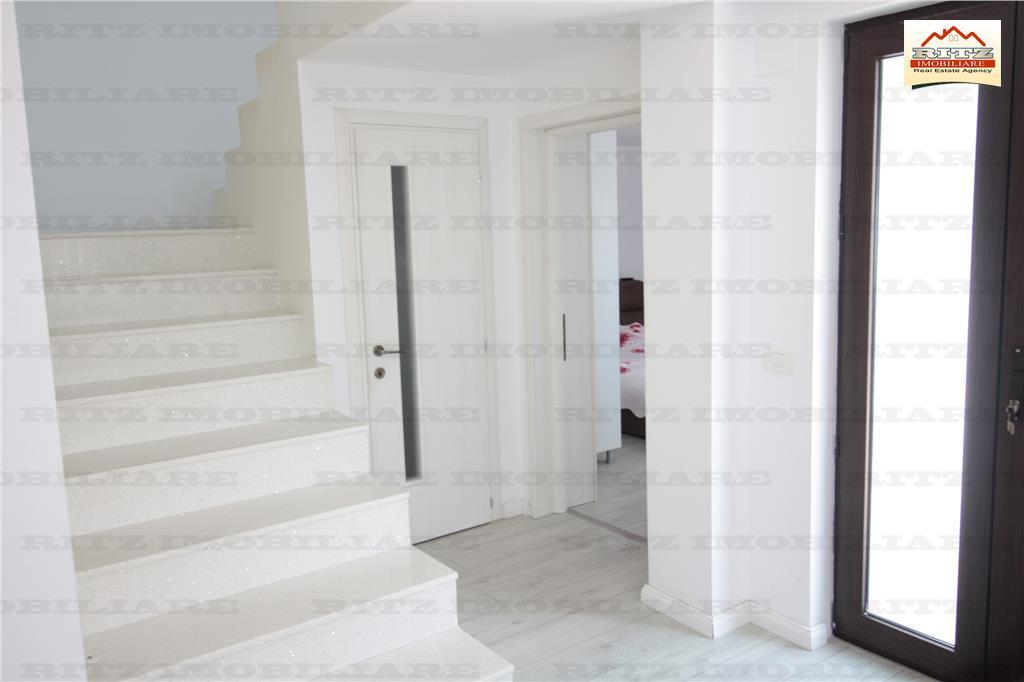 NOU! VILA P+1E,,renovata si mobilata modern,Teren 3300mp,zona T.Vladimirescu