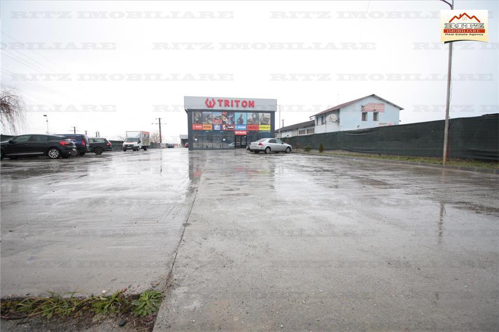 AFACERE LA CHEIE ! SHOW ROOM,HALE,TEREN industrial zona DE 574