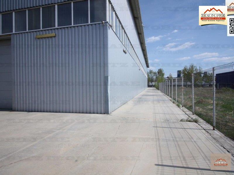 HALA INDUSTRIALA 1600 mp.+birouri si Teren 4299 mp. zona ALRO